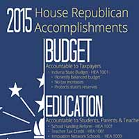 2015 House Republican Legislative Agenda Accomplishments