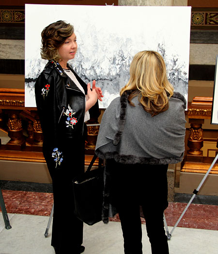 Wolkins: Local artists' work selected for Statehouse display