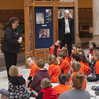 Rep. Richardson educates Indiana youth while visiting the Statehouse