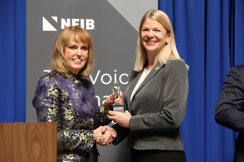 Negele receives Guardian of Small Business Award | State of Indiana